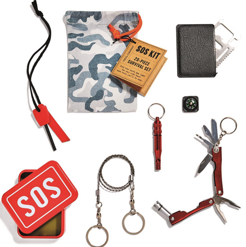SOS Emergency Kit Includes 6 Tools