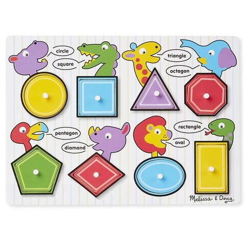 Shapes Peg Puzzle