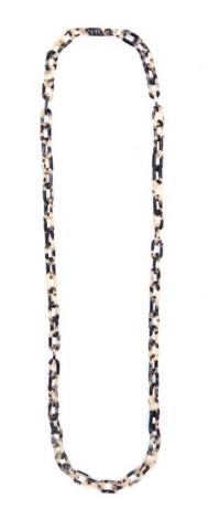 Tortoise Chain Long Necklace