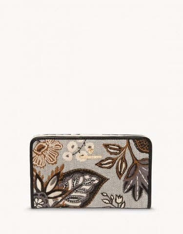 West Bluff Floral Snap Wallet