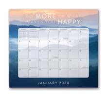 2020 Words to Live By Magnetic Monthly Pad
