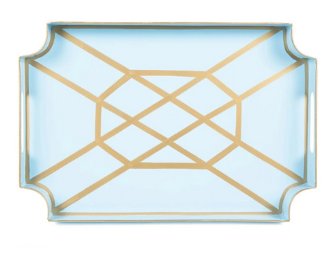 Light Blue Don't Fret Jaye Tray