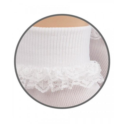 Double Row Lace Sock