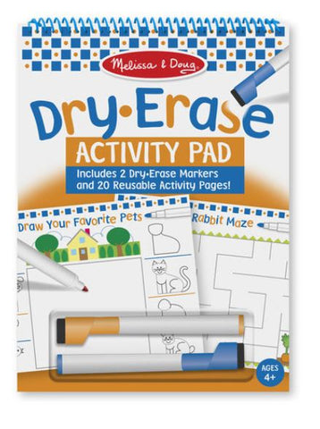 Dry Erase Activity Pad