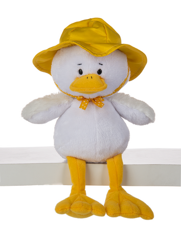 "8"" Duncan Duck with Rain Hat"