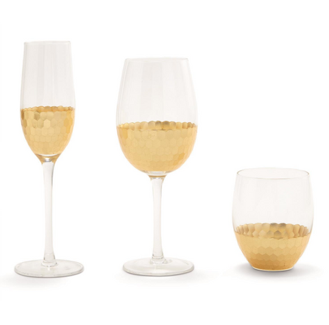 Gold Standard Stemless Glass 16oz