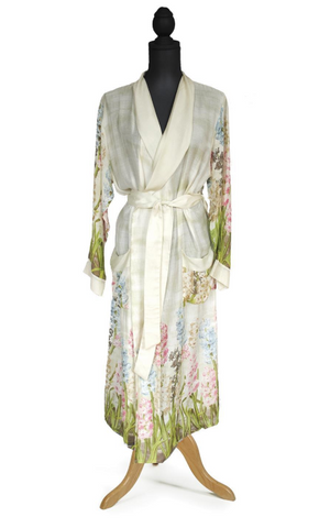 Hyacinth Robe w/ Removable Tie