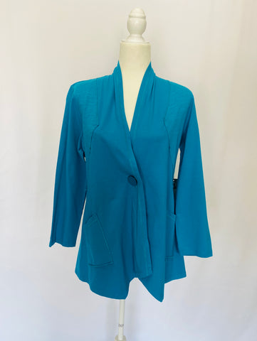 Caribbean Button Shawl Jacket