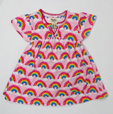 Magical Rainbows Baby Puff Dress
