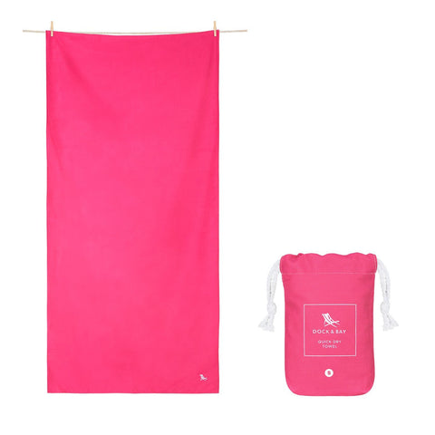 Classic Large Towel - Angel Pink