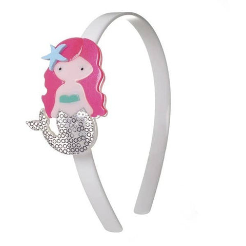 Mermaid Headband - Neon Pink Hair