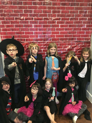 Harry Potter Party Photo wall