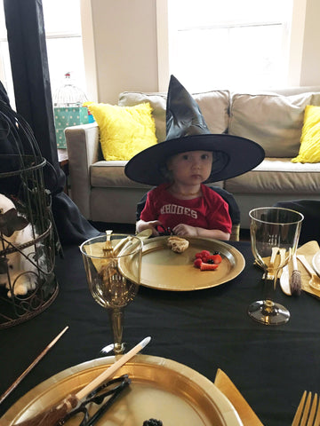 Cutest Little Witch at Harry Potter Party