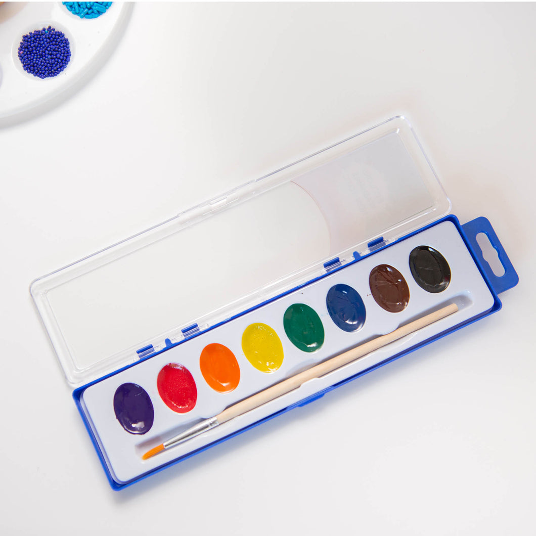 Watercolor Paint Set Party Favor