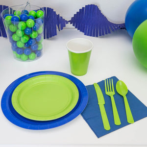 Blue and Green party supplies