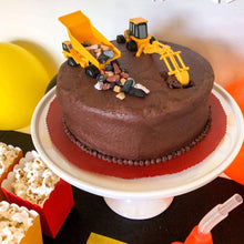 Load image into Gallery viewer, Construction Party Cake