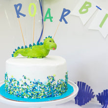 Load image into Gallery viewer, dinosaur cake topper