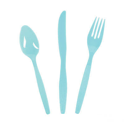 Light Blue Cutlery