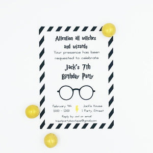 Wizard Party Invitation