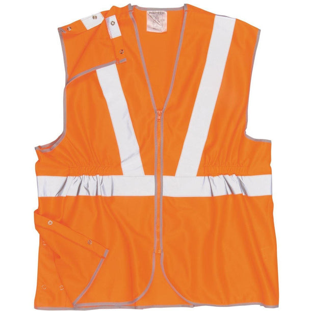 Portwest Hi-Vis Long Vest RT20