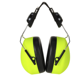 Portwest Clip-on HV Ear Protector Yellow One Size  PS42