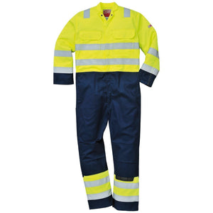 Portwest Hi-Vis Anti-Static Bizflame Pro Coverall BIZ7