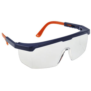 Portwest PW Safety Eye Screen Plus Clear One Size  PS33
