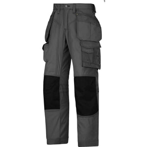 Snickers Workwear Floorlayer Holster Pocket Trousers Rip-Stop