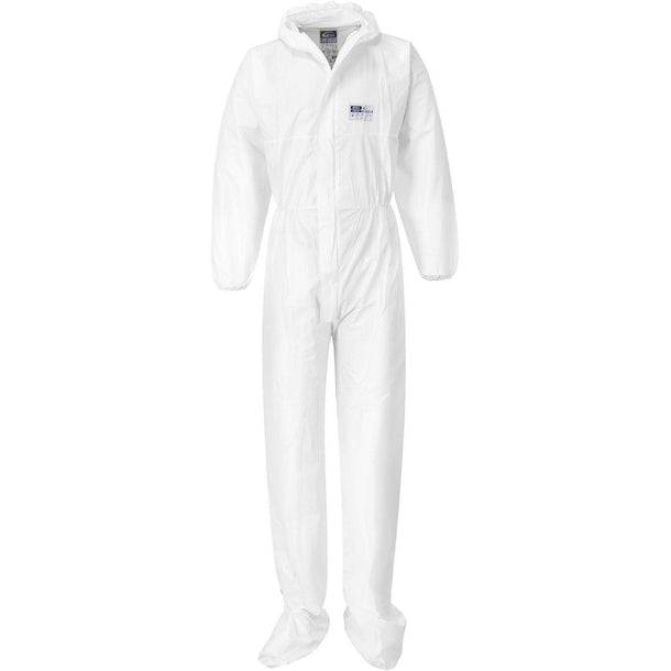 Portwest BizTex Microporous Coverall with Boot Covers Type 6/5 ST41