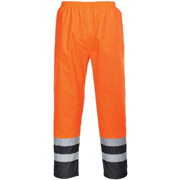 Portwest Hi-Vis Two Tone Traffic Trousers S486