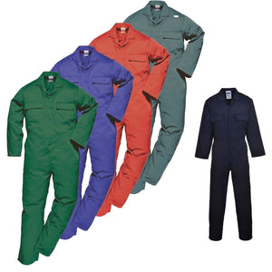 Portwest Euro Work Polycotton Coverall S999