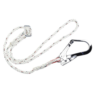 Portwest Adjustable Restraint Lanyard White One Size  FP22