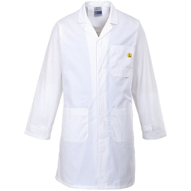 Portwest Anti-Static ESD Coat AS10