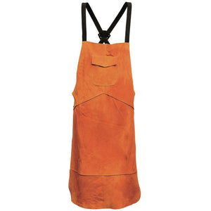 Portwest Leather Welding Apron Tan One Size Regular SW10