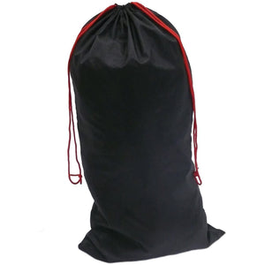 Portwest Nylon Drawstring Bag Black One Size  FP99