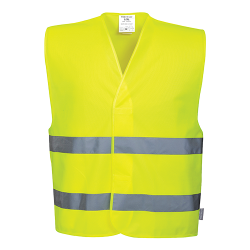 Portwest Hi-Vis Two Band Vest C474