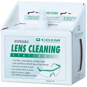 Portwest Lens Cleaning Station White One Size  PA02