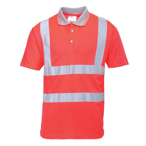 Portwest Hi-Vis Short Sleeve Polo S477