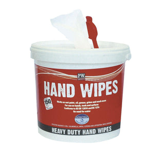 Portwest Hand Wipes (150 Wipes) White One Size  IW10