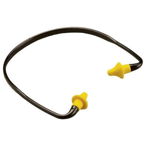 Portwest Banded Ear Plug Yellow One Size  EP16