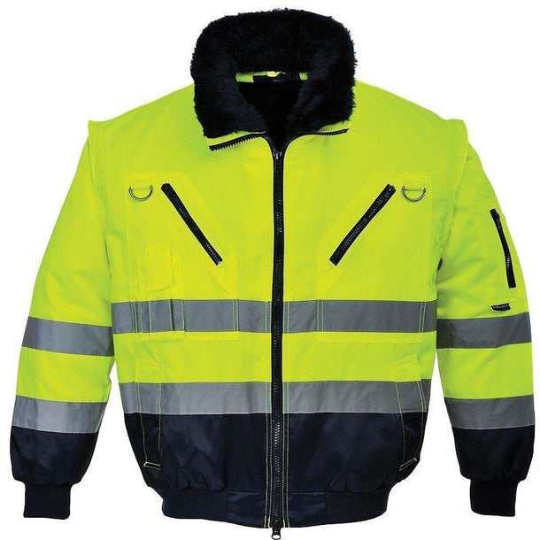 Portwest Hi-Vis 3-in-1 Pilot Jacket PJ50