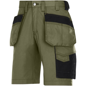 Snickers Workwear Craftsmen Holster Pocket Shorts Rip-Stop