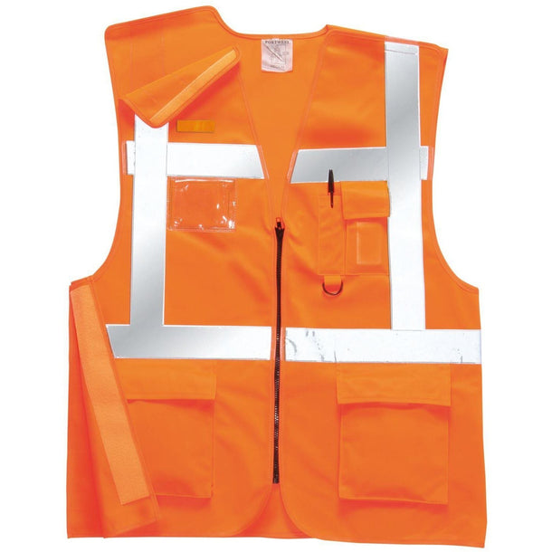 Portwest Executive Rail Vest GO/RT RT26
