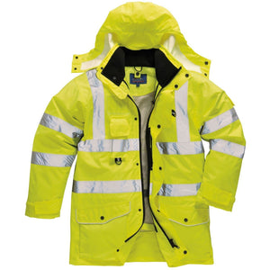 Portwest Hi-Vis 7-in-1 Traffic Jacket S427