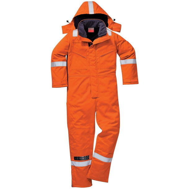 Portwest FR Anti-Static Winter Coverall FR53