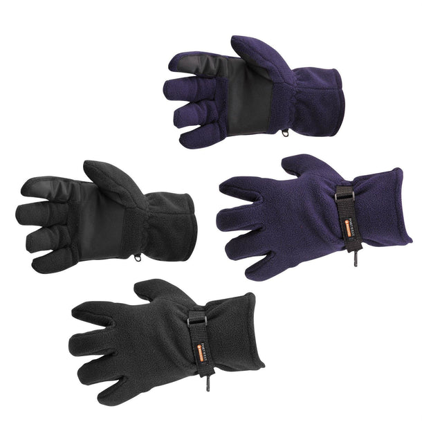 Portwest Fleece Glove Insulatex Lined GL12