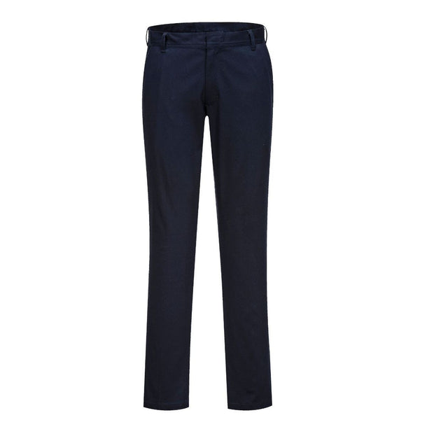 Portwest Stretch Slim Fit Chinos Pants Trousers S232