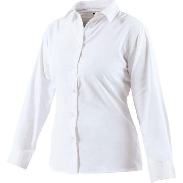 Dickies Ladies Oxford Weave Long Sleeve Shirt