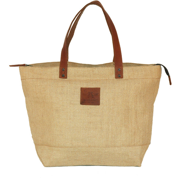 Byron Tote Bag in Natural
