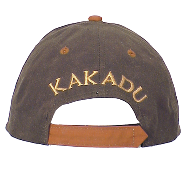 Kakadu Ball Cap in Maroon-Tan